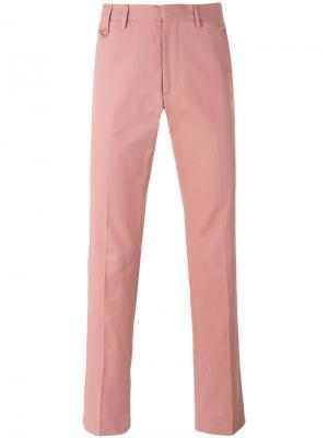 Брюки чинос Stella McCartney. Цвет: розовый и фиолетовый