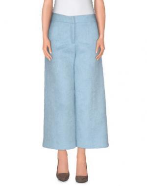 Повседневные брюки AMERICAN RETRO. Цвет: небесно-голубой