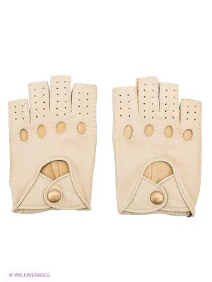 Перчатки Dali Exclusive. Цвет: светло-бежевый