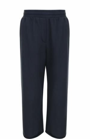 Укороченные расклешенные брюки T by Alexander Wang. Цвет: темно-синий