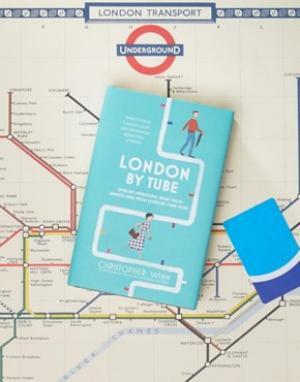 Books Книга London By Tubе. Цвет: мульти