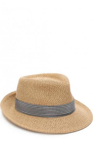 Шляпа с лентой Eric Javits. Цвет: черно-белый