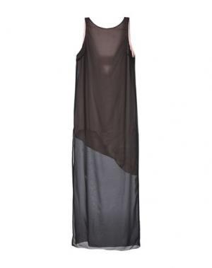 Длинное платье KORALLINE. Цвет: черный