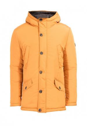 Куртка утепленная Finn Flare. Цвет: желтый