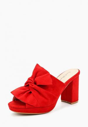 Сабо Sweet Shoes. Цвет: красный