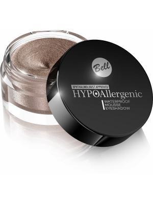 Bell Hypoallergenic кремовые тени для век Waterproof Mousse Eyeshadow Тон 01. Цвет: бронзовый