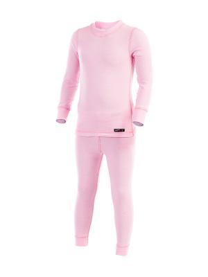 Термобелье-комплект Lynxy. Цвет: розовый