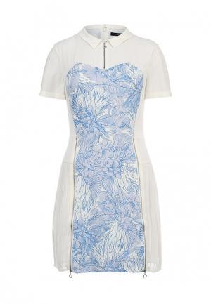 Платье French Connection. Цвет: разноцветный