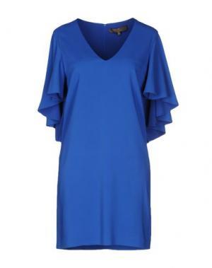 Короткое платье SPACE STYLE CONCEPT. Цвет: синий