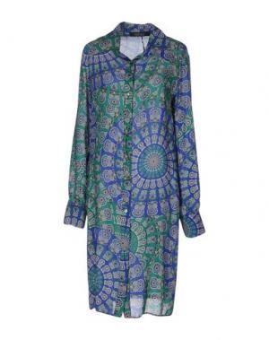 Платье до колена FISICO. Цвет: зеленый