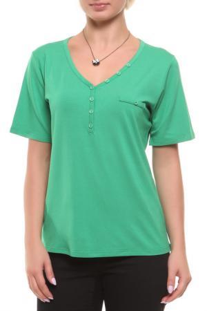 Блузка HEY. Цвет: зеленый