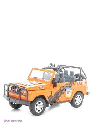 Машинка УАЗ АВТОПАНОРАМА. Цвет: оранжевый