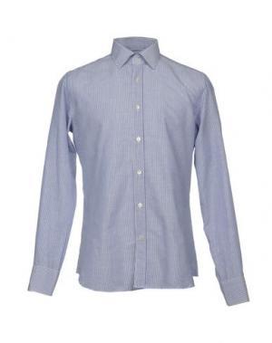 Pубашка CALIBAN. Цвет: лазурный