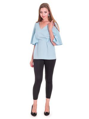 Блузка JATRAW. Цвет: голубой
