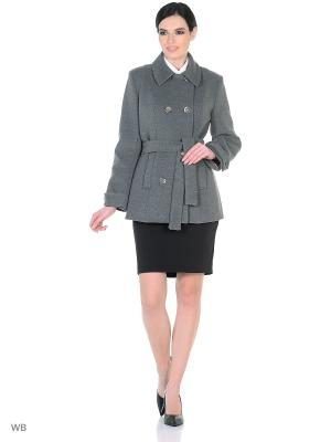 Пальто демисезонное Рома XP-GROUP. Цвет: серый