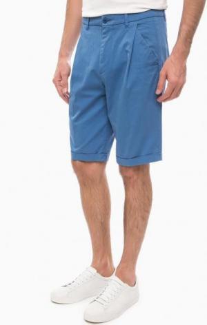 Классические синие шорты DRYKORN. Цвет: синий