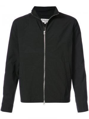 Спортивная куртка на молнии YMC. Цвет: чёрный