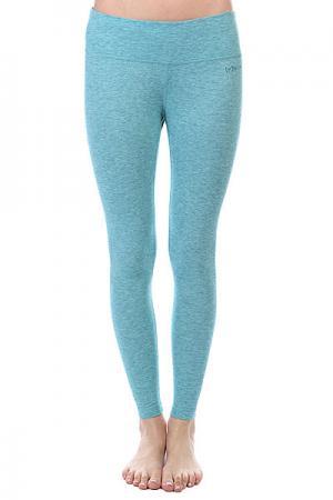Термобелье (низ) женское  W Ak Dr Wool Pant Calypso Heather Burton. Цвет: голубой