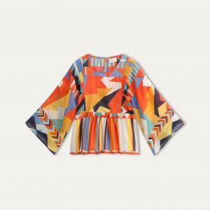 Блузка JULES BA&SH. Цвет: оранжевый