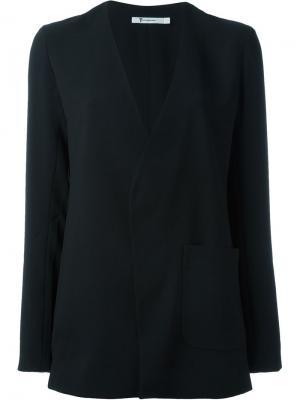 Пиджак с накладным карманом T By Alexander Wang. Цвет: чёрный