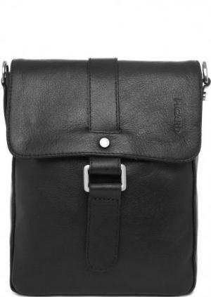 Маленькая черная сумка через плечо Picard. Цвет: черный