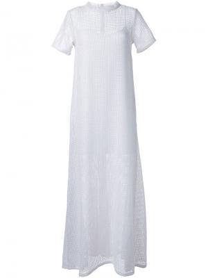 Платье Mustang Macgraw. Цвет: белый