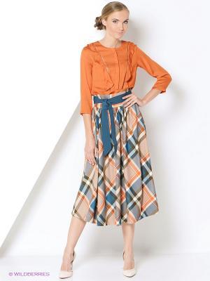Блузка adL. Цвет: оранжевый