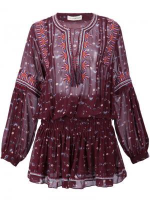 Платье Gita Ulla Johnson. Цвет: красный