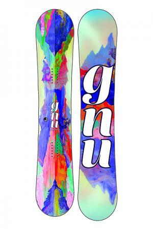 Сноуборд  Gnu B-nice Reflect 142 Btx Ast Multi. Цвет: мультиколор