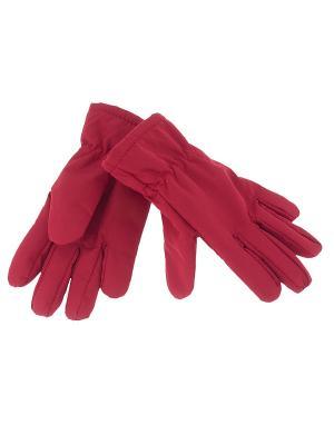 Перчатки CHICCO. Цвет: красный