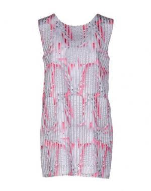 Короткое платье GAËLLE. Цвет: светло-серый