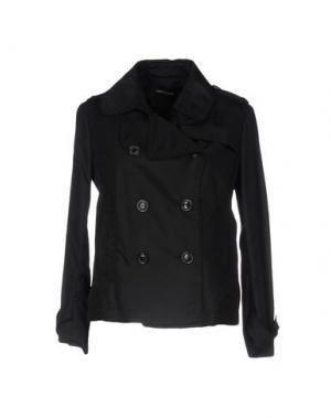Куртка FABRIZIO LENZI. Цвет: черный
