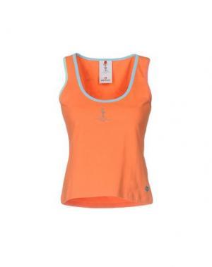 Майка MURPHY & NYE. Цвет: оранжевый