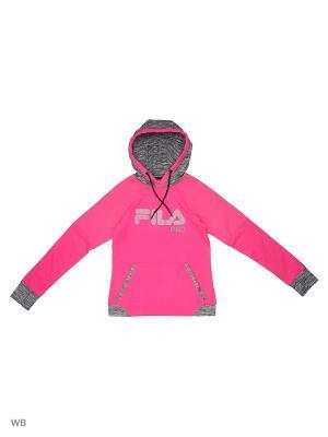 Худи FILA. Цвет: розовый