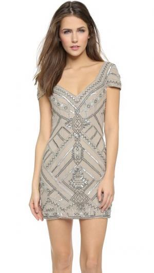 Платье Elijah Parker. Цвет: голубой