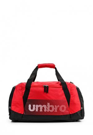 Сумка спортивная Umbro. Цвет: красный