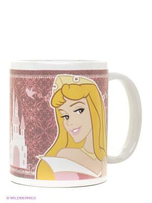 Кружка керамическая  Принцессы Stor. Цвет: бледно-розовый, белый, голубой