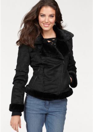 Куртка Aniston. Цвет: черный
