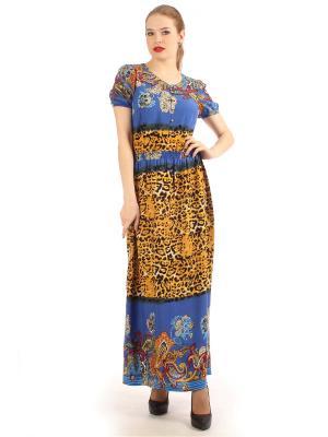 Платье длинное штапельное Lamiavita