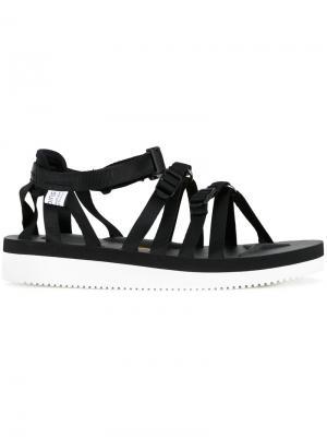 Tosshi sandals Suicoke. Цвет: чёрный