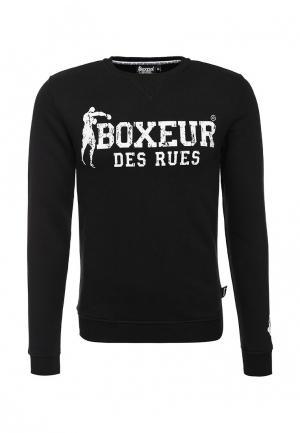 Свитшот Boxeur Des Rues. Цвет: черный