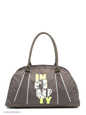 Спортивная сумка UNION. Цвет: хаки