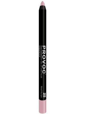 PV0025 Gel Lip Liner 25 Read My Lips Гелевая подводка в карандаше для губ (цв. розово-бежевый) Provoc. Цвет: розовый