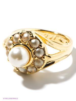 Кольцо Jenavi. Цвет: золотистый, белый
