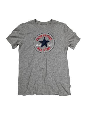 Футболка Core Solid Chuck Patch Crew Converse. Цвет: серый