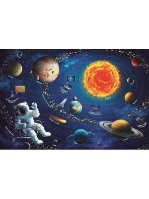Пазл 100 дет. Солнечная система Trefl. Цвет: синий
