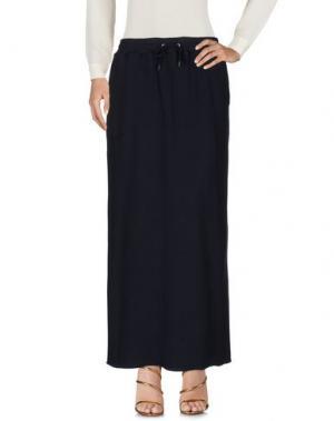 Длинная юбка ZUCCA. Цвет: темно-синий