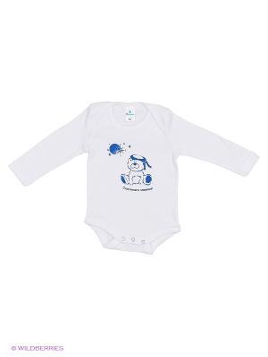 Пижама ясельная MN0102 03 цвет белый, медвежонок Квирит. Цвет: белый