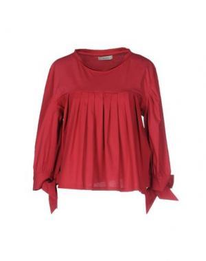 Блузка ALPHA STUDIO. Цвет: кирпично-красный