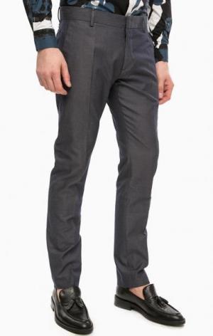 Классические синие брюки Antony Morato. Цвет: синий